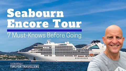 Seabourn Encore Cruise Ship Tour