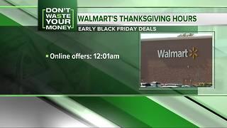 Don't Waste Your Money: Walmart Black Friday deals, Amazon selling items at Whole Foods - Video