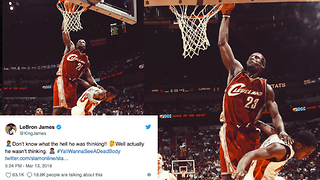 LeBron James MURDERS Coach Damon Jones With One Tweet! - Video