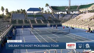 Pickleball Tour coming to Delray Beach