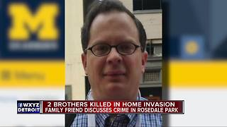 Two brothers shot and killed during home invasion in Detroit