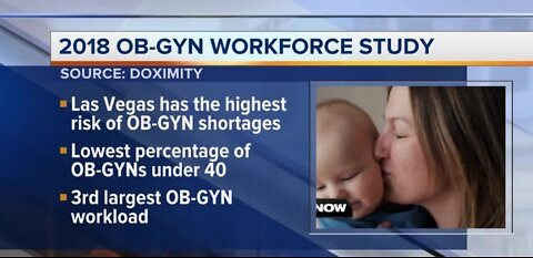 Need for OB/GYNs in Nevada