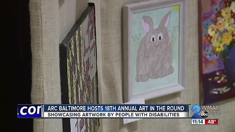 """Arc Baltimore hosts 18th annual """"Art in the Round"""""""