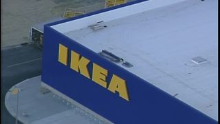 IKEA signs are up - Video