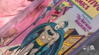 Priceless comic book collection stolen, returned, now being sold