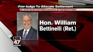 Retired judge to allocate MSU settlement - Video