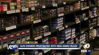 New ammunition law goes into effect