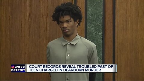 Court records reveal troubled past of teen charged in Dearborn murder