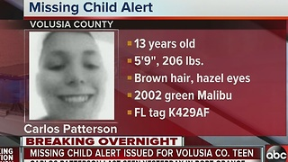 Missing Child Alert issued for Volusia County teen - Video