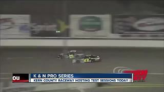 Testing sessions at Kern County Raceway in preparation of upcoming events - Video