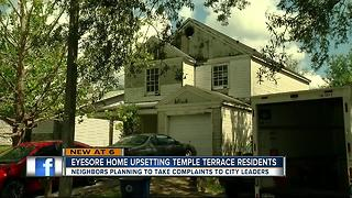 Temple Terrace neighborhood says problem home has been decaying for years - Video