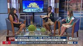 Girl Scouts host Solar Eclipse party - Video