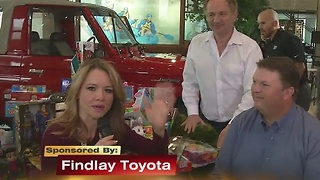 13 Days Of Giving With Findlay Toyota 11/28/16 - Video