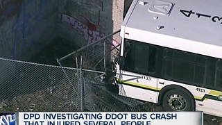 DPD investigating DDOT Bus crash - Video