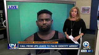 Call from UPS leads to false identity arrest - Video