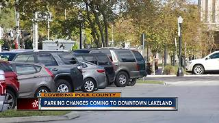 Lakeland tries to alleviate parking pains with new plan - Video