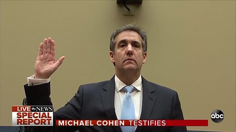 Cohen testifies before House Oversight Committee