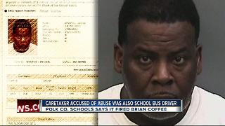 Caretaker arrested for sexual battery was also school bus driver - Video