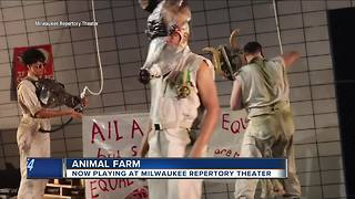 Animal Farm playing at Milwaukee Rep Theater - Video