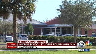 Martin County student charged with simulating a shooting - Video