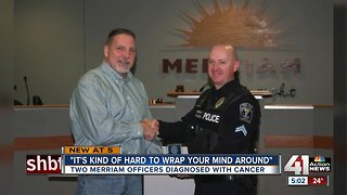 Merriam Police Department rallies around 2 officers diagnosed with cancer