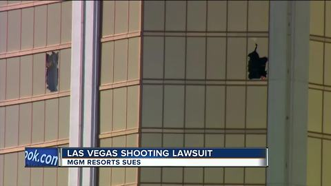 MGM Resorts files federal lawsuits against mass shooting victims