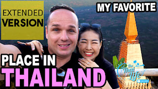 Thailand Travel, Giant Pyramid Temple HIGH in the Mountains!