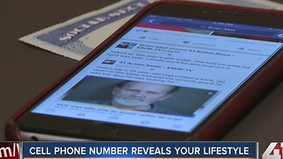 Cellphone number reveals your lifestyle - Video
