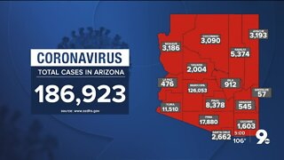 816 new confirmed cases of COVID-19 in Arizona