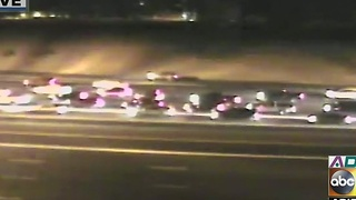 Serious crash on Loop 101 in Mesa, 7 cars involved - Video
