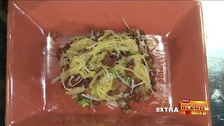 Blend Extra: Savory Parmesan Spaghetti Squash with Bacon