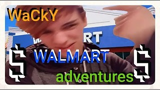 My Crazy Story About Walmart  - Video