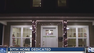 Green Bay Habitat for Humanity dedicates 97th home - Video