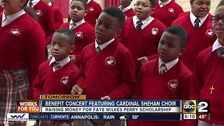 Cardinal Shehan School holding benefit concert March 2 - Video