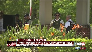 Family Members Concerned for loved one's inside Chico's