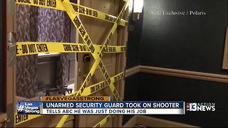 Security guard says he was just doing his job - Video