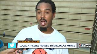 Team Nevada prepares for the Special Olympics - Video