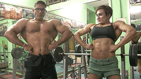 Married Couple Are India's First Bodybuilding Champion Duo | HOOKED ON THE LOOK