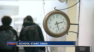 School district finds success with later start time - Video