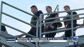 Aurora police and firefighters honor 9/11 first responders