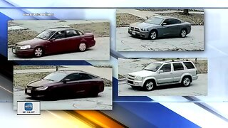 Surveillance video released of suspect vehicles
