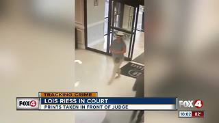 Lois Riess in Court - Video