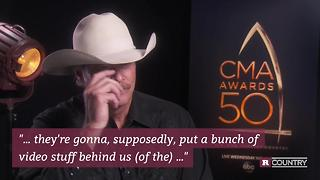 Alan Jackson talks upcoming CMA performance with George Strait | Rare Country - Video