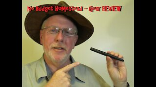 Schrade Tactical Survival Pen REVIEW