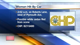 Woman hit by car in Oildale overnight