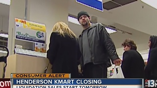 Sears closing Henderson Kmart store - Video