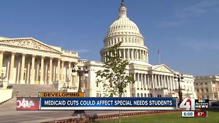 Senate healthcare bill could cut Medicaid funding for Kansas special needs students - Video
