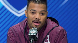 Derrius Guice Says NFL Scouts Asked If He Was Gay and Called His Mom a PROSTITUTE - Video