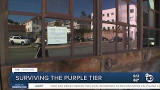 San Diego businesses trying to survive the purple tier