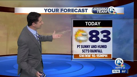 South Florida Tuesday afternoon forecast (11/20/18)
